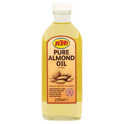KTC Pure Almond Oil - 200 mL