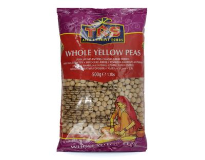 TRS Whole Yellow Peas - 500 Grams