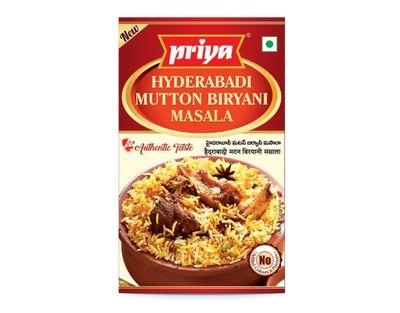 Priya - Hyderabadi Mutton Biryani Masala - 50g