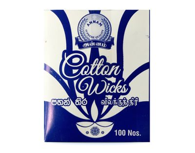 Annam - Cotton wicks (Batti) - 100 pieces