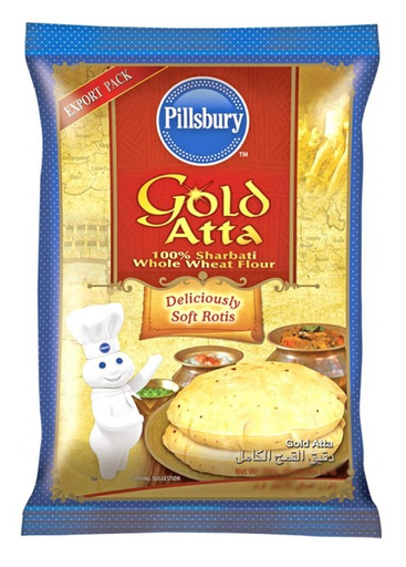 Pillsbury Gold Sharbati Atta - 10 Kg