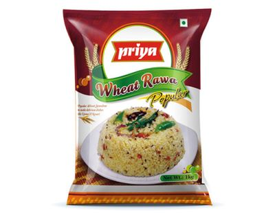 Priya - Popular Wheat Rawa - 1kg