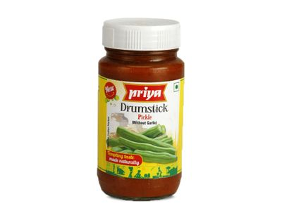 Priya - Drumstick Pickle (without Garlic) - 300g
