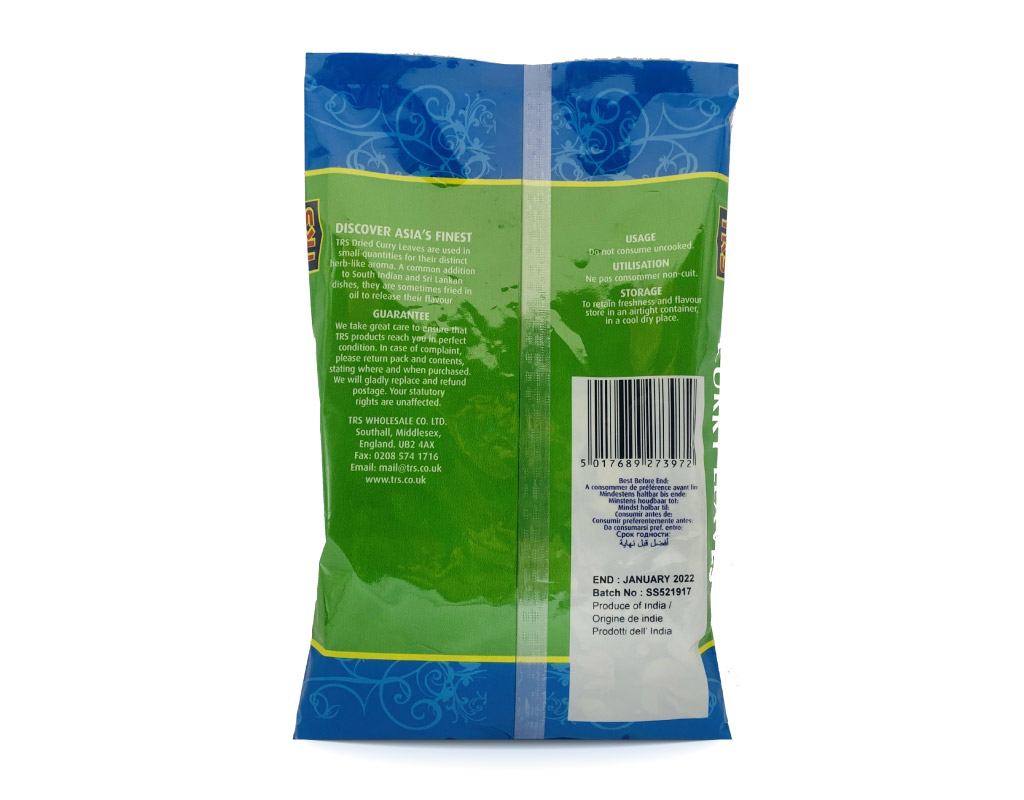 TRS - Dried Curry Leaves - 30g – Bild 2