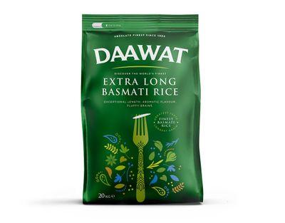 Daawat - Extra Long Basmati Rice - 20kg