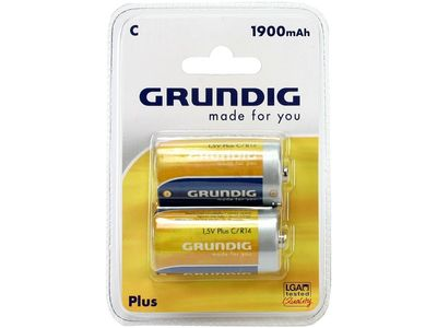 GRUNDIG Batterie Plus 1900mAh 2er-Pack