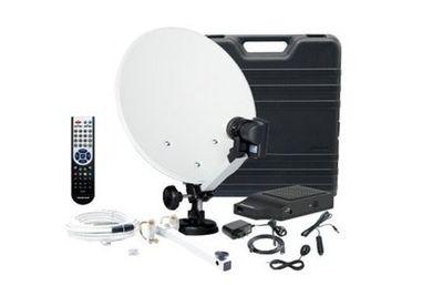 TV SAT Anlage Telestar Mini HD-L 35cm 12/230V