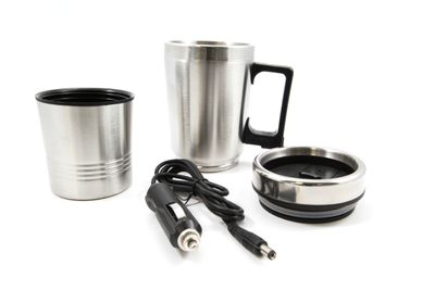 All Ride Elektrischer Kaffeebecher Edelstahl 24V