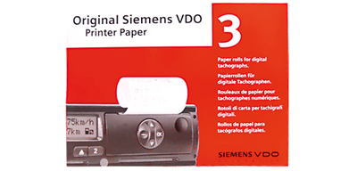 Original VDO Druckerpapier Original 3er-Pack