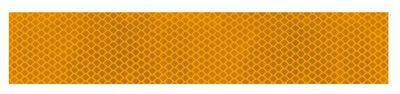 Lampa Reflektierendes Klebeband gelb 100 x 5 cm