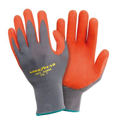 Goodyear Arbeitshandschuhe Nylon Gr. S orange