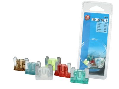 All Ride Micro-Stecksicherung 6er-Pack 7,5-30A