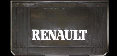 RENAULT Schmutzfänger 2er-Set, schwarz 65 x 35 cm