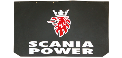 SCANIA POWER Schmutzfänger 2er-Set, 65 x 35 cm