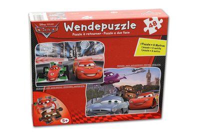Disney Pixar Cars Wendepuzzle 48-teilig