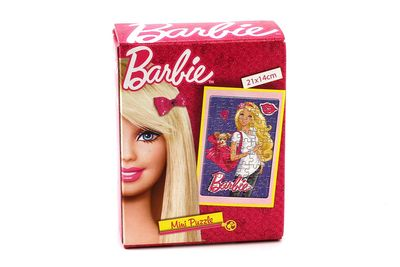 Barbie Mini Puzzle, 21 x 14 cm