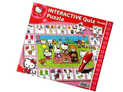 Clementoni Hello Kitty Interactive Quiz Puzzle