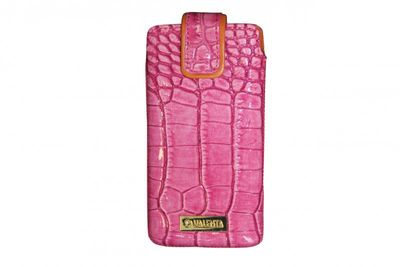 KMS - Valenta Handytasche Pocket Glam Dark Pink 20 iPhone 5