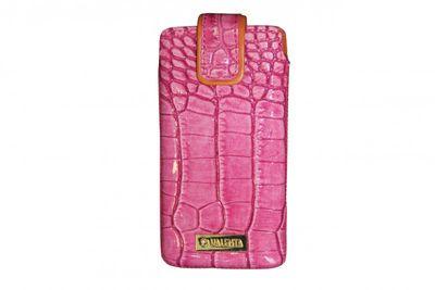 Valenta Handytasche Pocket Glam Dark Pink 22 Samsung Galaxy S3