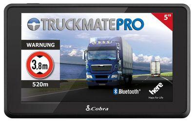Cobra Truckmate LKW- Navigationssystem C6500