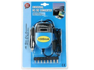 All Ride DC/DC Laptop Umformer 12V 3300mA