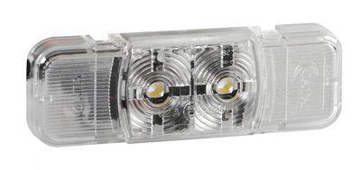 Lampa 2 LED Umrissleuchte SMD 24V, weiß E4