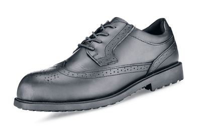 Shoes for Crews Sicherheitsschuh Executive Wing Tip - Herren schwarz