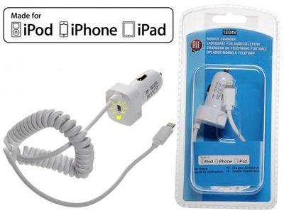 ALL Ride Apple Ladegerät Lightning 12/24 V