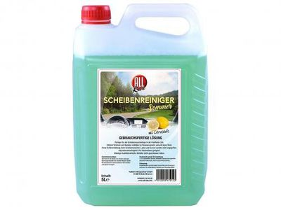 ALL Ride Scheibenreiniger Zitrusduft 5 L