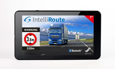 IntelliRoute LKW Navigationssystem TR8020 DVR