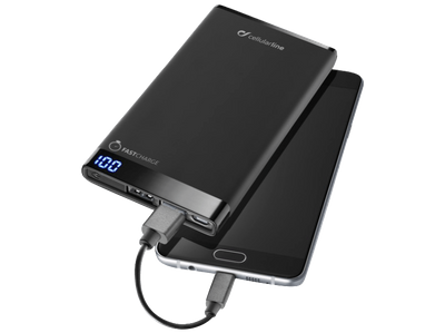 cellularline Free Power Manta 6000mAh schwarz