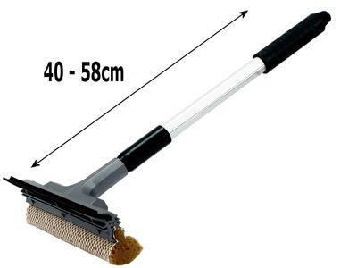 Abzieher & Wischer mit Teleskopstiel 40-60cm