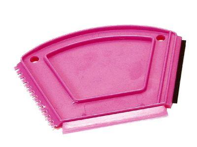 Eiskratzer mit Gummileiste, farblich sortiert