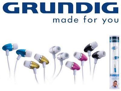 GRUNDIG 2Tone Stereo In-Ear Ohrhörer pink