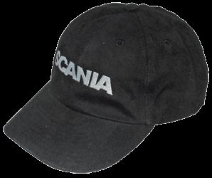 Basecap Scania schwarz