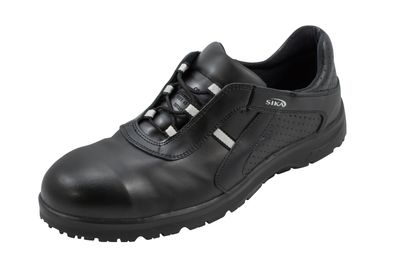 SIKA Fusion Schuh mit Alukappe, schwarz S1 + SRC