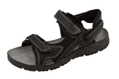 SIKA Motion Sandale - schwarz OB + SRC