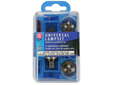 Universal Birnenset ALL RIDE H4 12 V E4