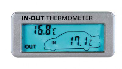 Lampa Innen-Außen Thermometer 12/24 V