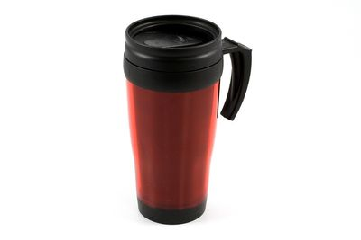 Tableware Thermobecher mit Griff in rot 400 ml