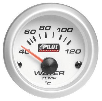 PILOT Temperaturmesser Kühlwasser mit Beleuchtung 40-120 °C