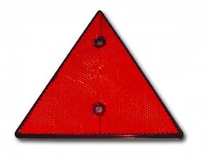 PROPLAST Rückstrahler Dreieck, rot E13
