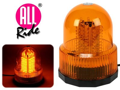 All Ride Rundumleuchte 24V LED 90 mit Magnetfuß, orange
