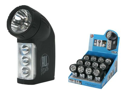 All Ride Taschenlampe LED 6 inklusive Batterien