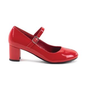 SCHOOL GIRL-50, Mary Jane Spangenpumps rot Lack Outlet