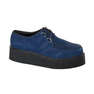 CREEPER-402S, Creepers blau Wildleder   Outlet