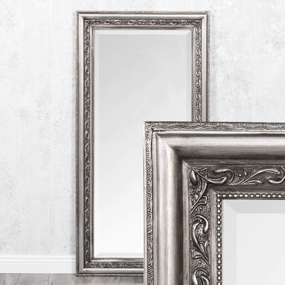 Silberne Rahmen