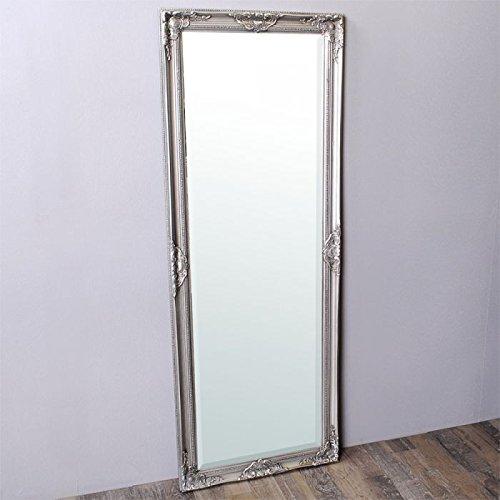 Spiegel LEANDRA Antik-Silber 150x60cm