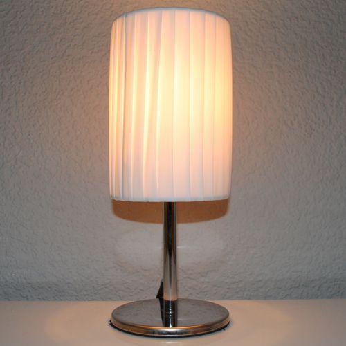 Designer Tischlampe MERLON-XS weiss 25cm