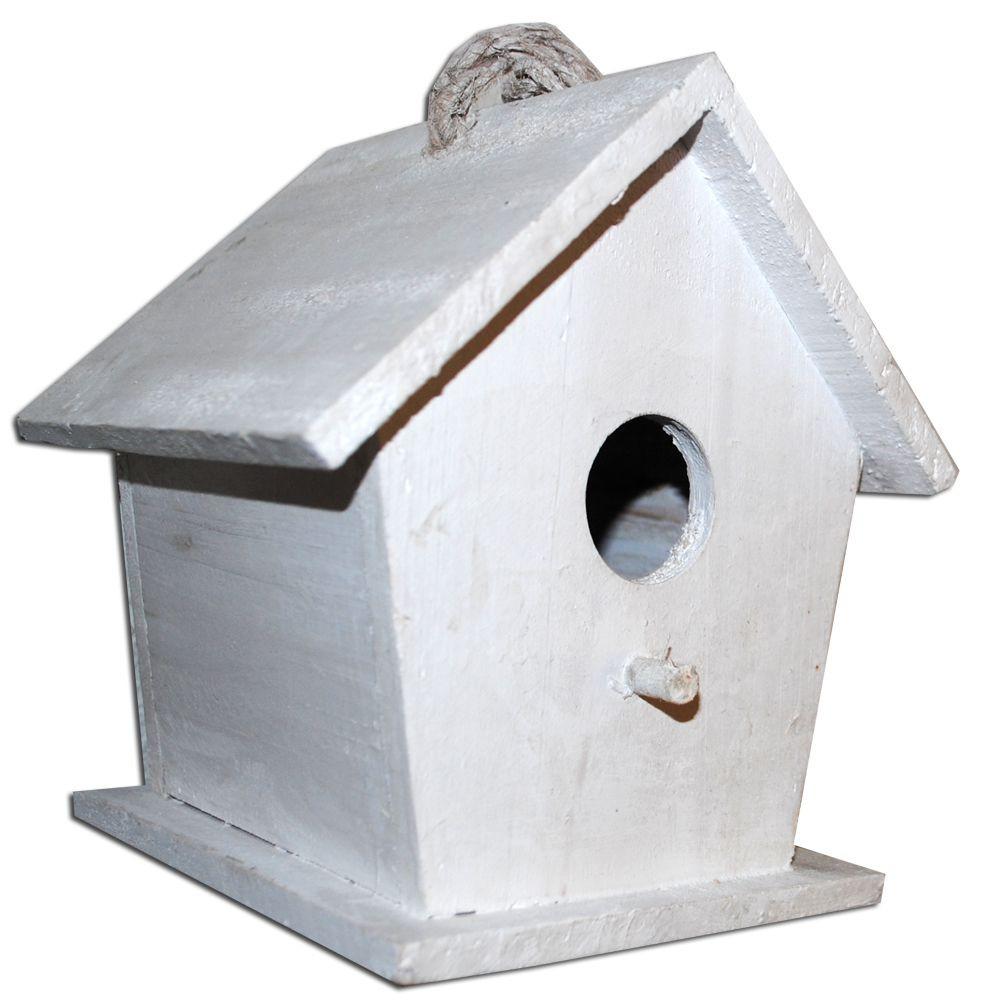 Holznistkasten Vogelhaus LASSE mit Stange